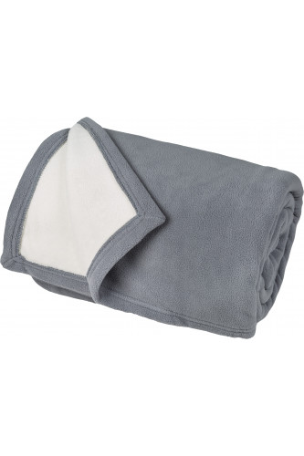 Couverture polaire luxe, 100% polyester
