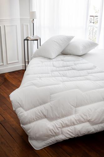 Couette Micro Gel™ Enveloppe Percale 100% coton bio