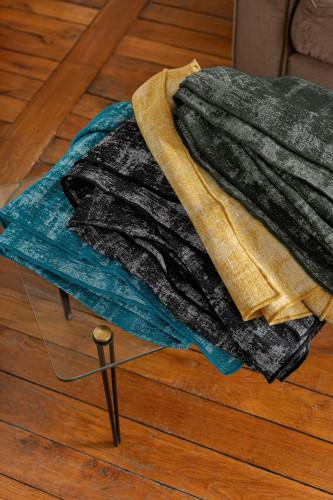 Plaids laine & lin, motif empreinte
